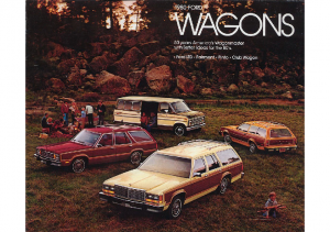 1980 Ford Wagons
