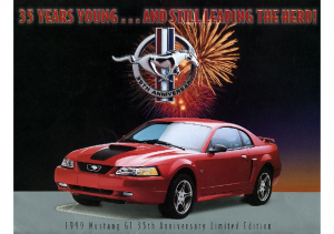 1999 Ford Mustang Anniversary
