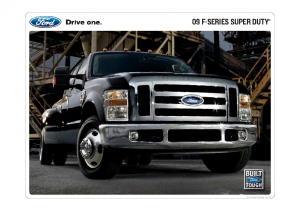 2009 Ford Super Duty