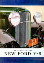 1932 Ford V8 Features