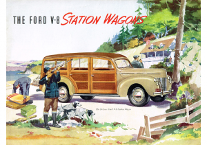 1940 Ford Wagons