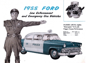 1955 Ford Police