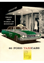 1960 Ford Taxi Cab