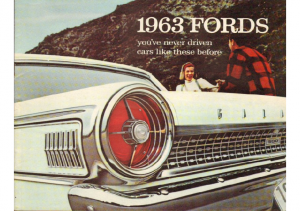 1963 Fords