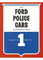 1964 Ford Police Cars