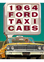 1964 Ford Taxi Cab
