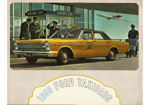 1966 Ford Taxicabs