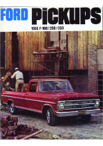1968 Ford Pickups
