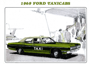 1969 Ford Taxi Cabs