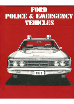 1970 Ford Police Cars