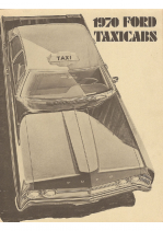 1970 Ford Taxi Cabs