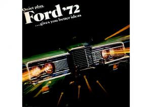 1972 Ford Full Line