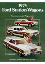 1975 Ford Station Wagons
