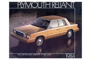1984 Plymouth Reliant