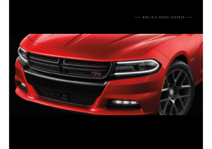 2015 Dodge Charger Pre 2015