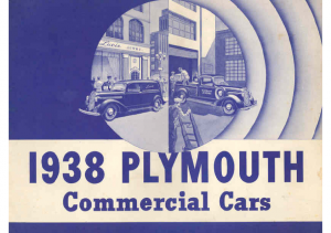 1938 Plymouth Commercial Cars
