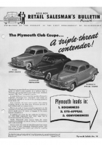 1947 Plymouth Sales Guide