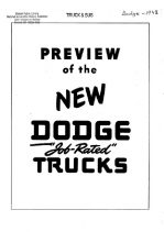 1948 Dodge Truck Preview