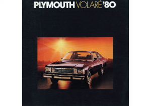 1980 Plymouth Volare