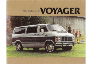 1982 Plymouth Voyager Vans