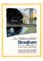1923 Oldsmobile 43A Brougham