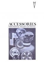 1967 Pontiac Pocket Accessories Catalog