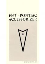 1967 Pontiac Pocket Accessorizer Catalog