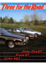 1985 Oldsmobile Three For The Road