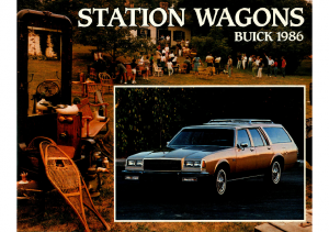 1986 Buick Station Wagons