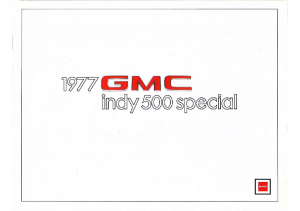 1977 GMC Indy 500 Special