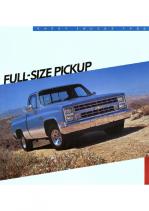 1986 Chevrolet Full Size Pickups