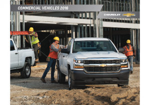 2016 Chevrolet Commercial Vehicle