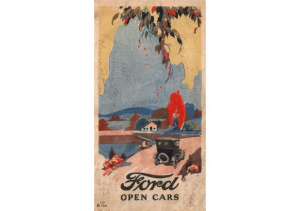 1924 Ford Open Cars Foldout