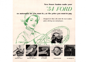 1954 Ford Power Assists
