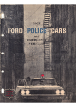 1962 Ford Police Cars