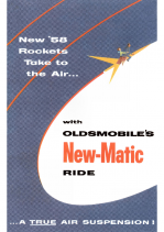 1958 Oldsmobile New-Matic Ride