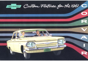 1961 Chevrolet Corvair Accessories