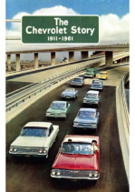 1961 The Chevrolet Story 1911 to 1961