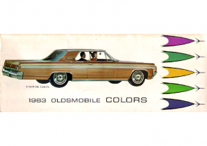 1963 Oldsmobile Exterior Colors Chart