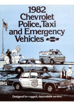 1982 Chevrolet Police & Taxi Vehicles