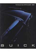 1987 Buick Buyers Guide