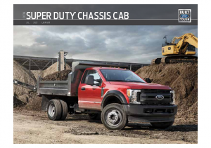2019 Ford Super Duty Chassis Cab