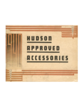 1940 Hudson Approved Accessories
