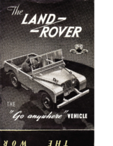 1950 Land Rover BR Series I